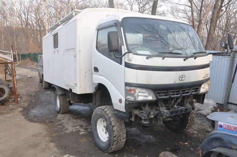 Устройство Toyota Dyna