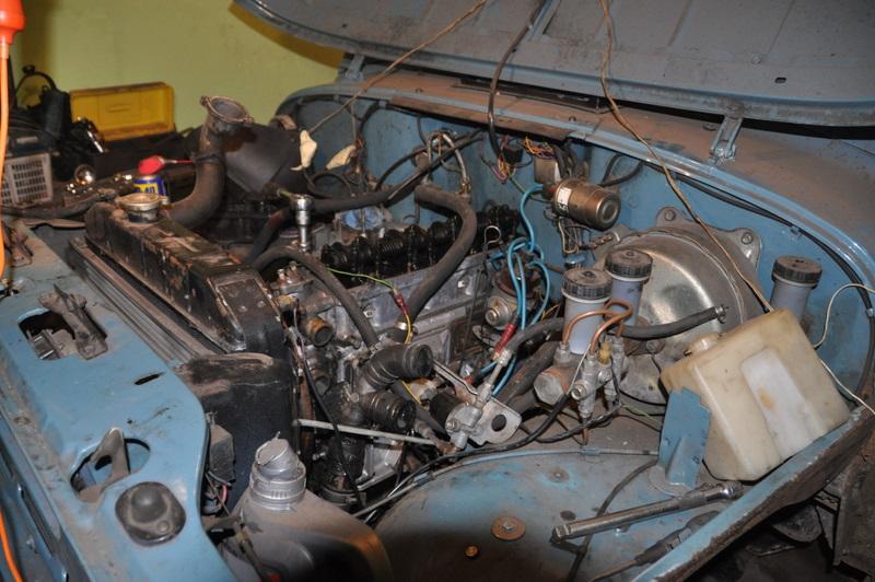 Тюнинг уаз 469 своими руками двигатель